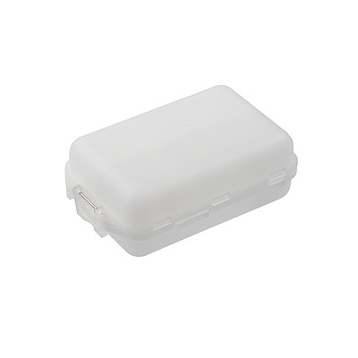 Accessory box, transparent