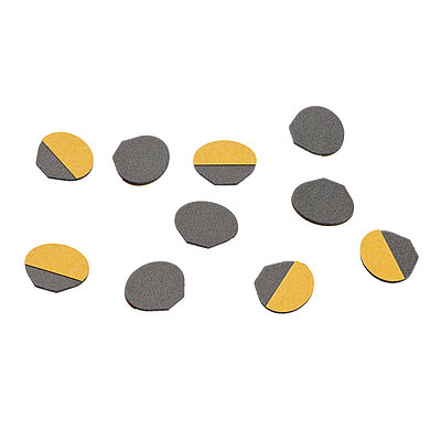 Pad charcoal-grey (10pcs)