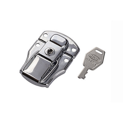 Case lock with keys