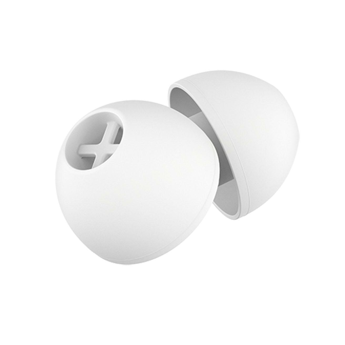 EAR ADAPTER WHITE M, 5PAIR