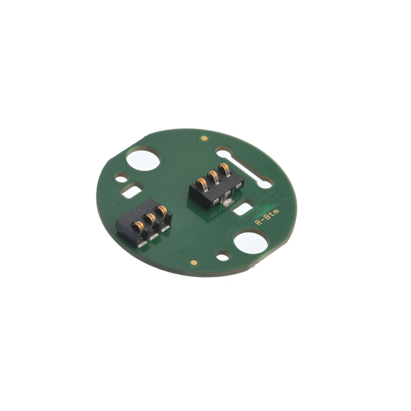 PCB microphone contact