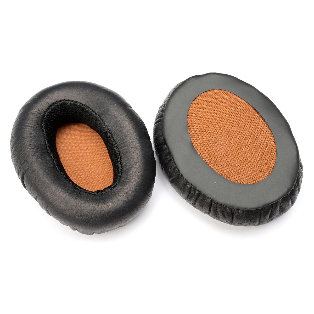 Ear pads, black/brown