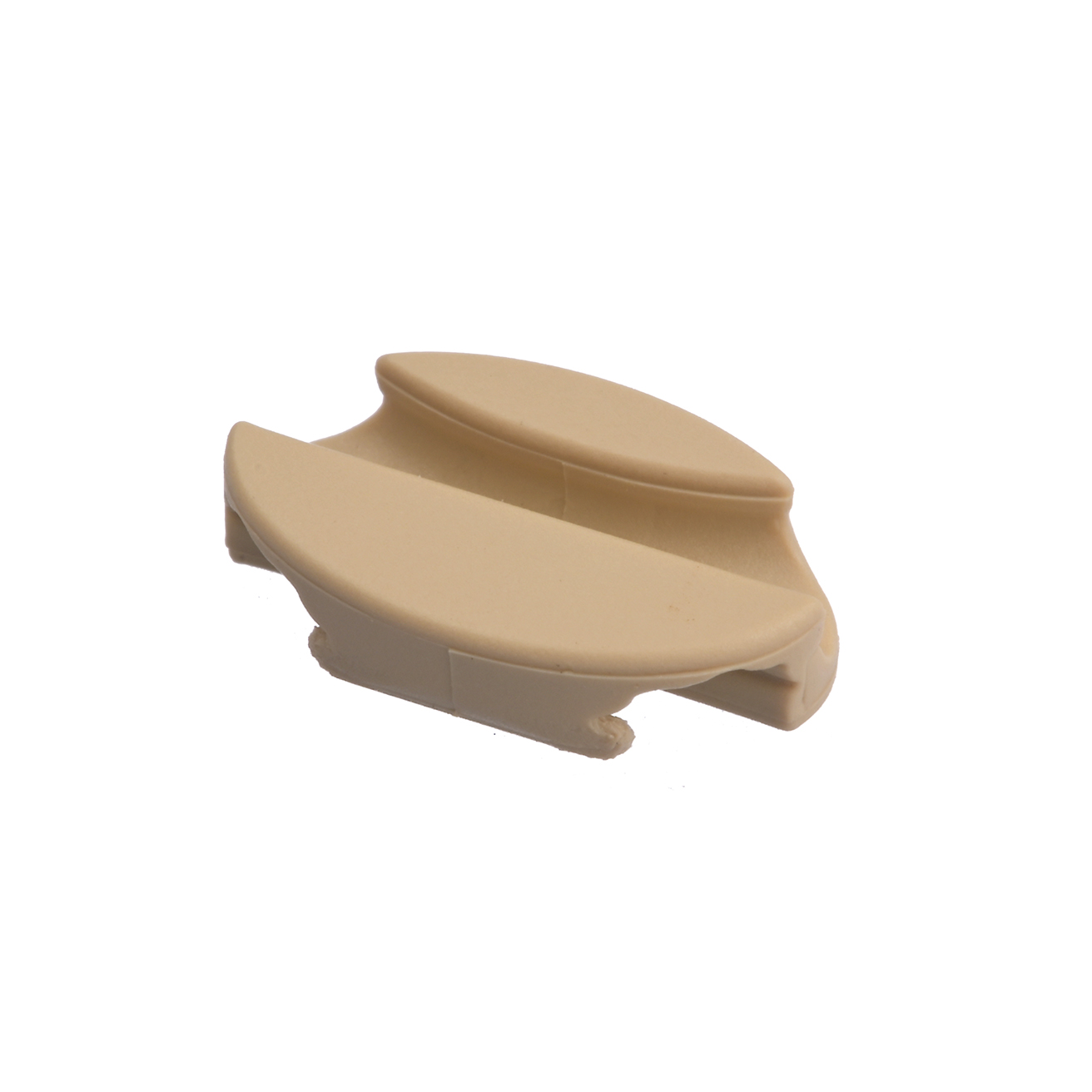 Cable clip, beige