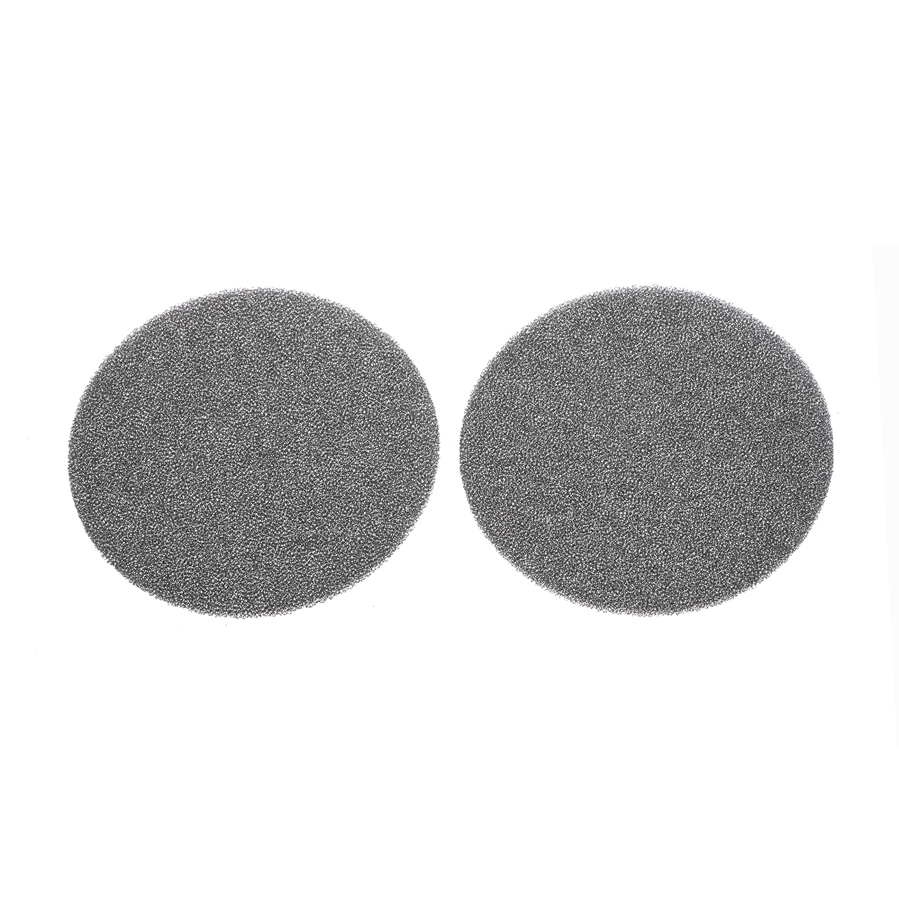 1 pair foam discs for ear pads