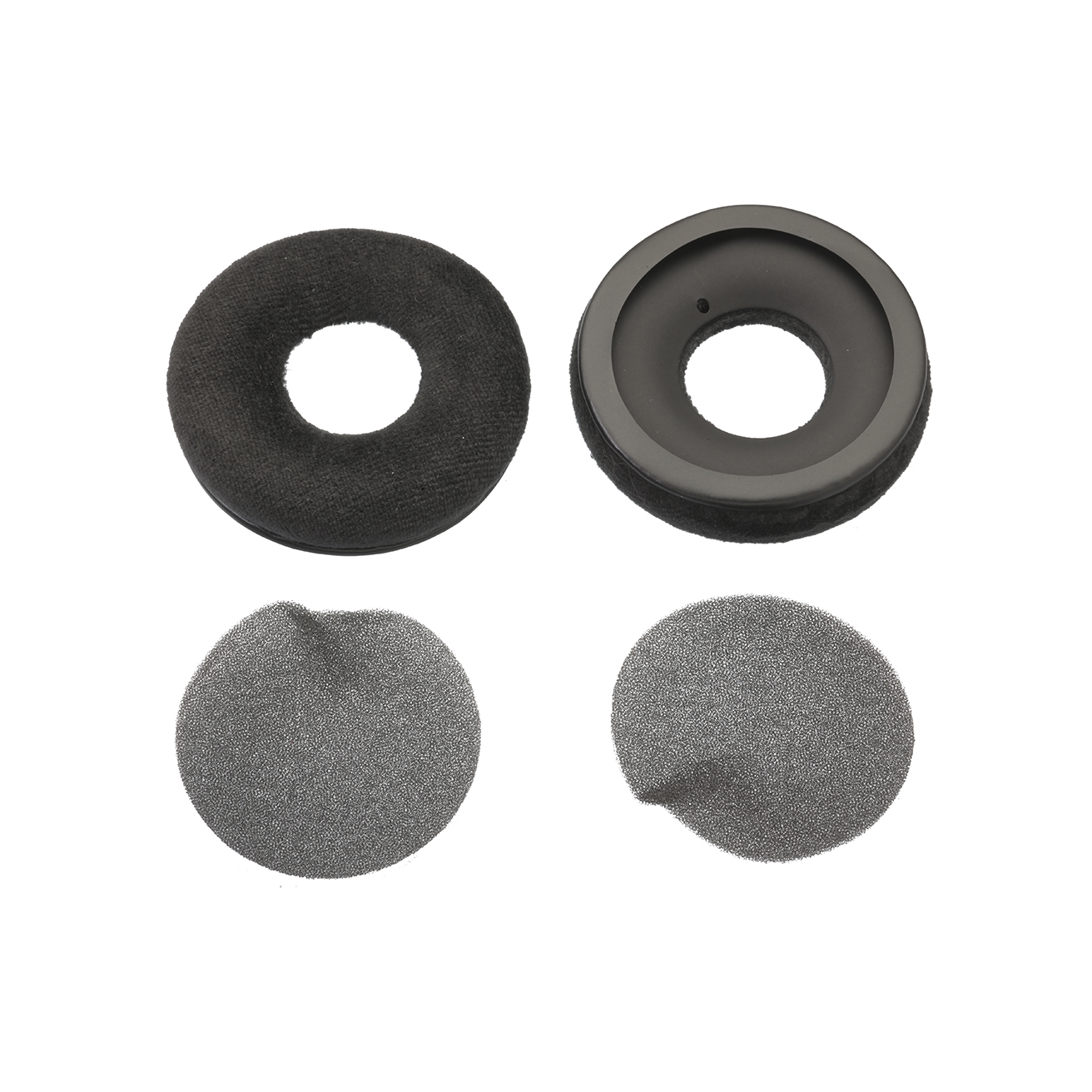 Ear pad Velour with foam discs